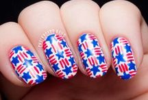 Fourth of July Manicures / A collection of Fourth of July nail art. / by Chalkboard Nails
