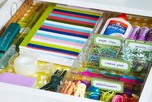 Organize - Clever Organization Ideas / a collection of cool and clever organization ideas I find on the web. LETS GET ORGANIZED!   #organize #organized #neat #DIY #idea