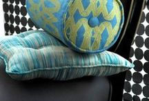 Larry Laslo for Robert Allen Fabric / In their fifth collaboration, Robert Allen and design luminary Larry Laslo launch Chameleon, a first of its kind showroom-only drapery fabric and upholstery fabric collection that draws from the worlds of art, fashion, history and nature. The line deftly weaves intriguing materials, such as metallics, embroidery and digital prints, with exotic motifs that range from Technicolor scarabs on a black backdrop to iridescent abstracts resembling water.