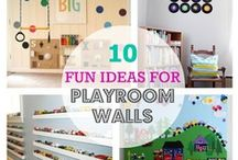 Kids Bedrooms and Playrooms / by Susan Johnson