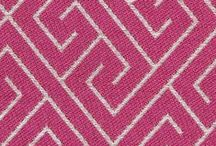 Color Library: Fuchsia Fabric / A brilliant and sophisticated pink named after the flowers of a tropical plant, Robert Allen' Color Library upholstery fabric in fuchsia is now in its element on the red carpet and as the oft-used accent to cobalt and viridian in modern art. / by Robert Allen Design