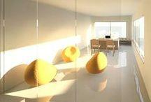 my work - interior design / by Agustina Guridi