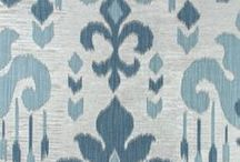 Color Library: Blue Opal Fabric / Gorgeous design is just a semi-precious stone's throw away with Robert Allen's Blue Opal upholstery fabric, a luminous grayish-blue hue that sets a sophisticated mood.