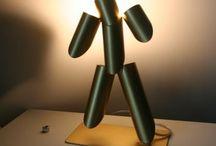 Luminaire design / Lampe de chevet et luminaire design