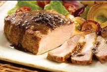 Pork, Veal & Lamb Recipes / by Omaha Steaks