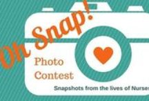 Oh Snap! Photo Contest! / Some entries from our contest! Sign up here: http://bit.ly/1uKKx36 / by Diversity Nursing