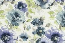 Floral Fabric / Robert Allen has an extensive bouquet of floral upholstery fabrics that can transform a space into a veritable garden of intriguing botanical forms and exotic color combinations. Here are a selection of them to plant a seed of creativity! / by Robert Allen Design