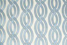 Coastal Fabrics & Design / Robert Allen inspired coastal fabrics and interior design.