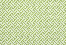 Color Library: Water-Cobalt-Spring Grass Fabric / One of our three new Color Library Multi-Purpose Books, Water-Cobalt-Spring Grass offers fresh, livable color and is flush with patterns that are both architectural and organic. The collection features prints, wovens and embroidery fabric in a meticulously edited selection of small and mid-scale patterns in colors that coordinate with existing fabric upholstery books. / by Robert Allen Design
