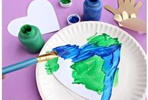 INSPIRED Arts & Crafts / Arts and crafts for kids