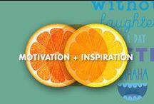 Motivation + Inspiration