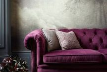 The Beauty of Velvet / Sumptuous, texture, soft rich shades of velvet.