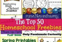 Homeschool Printables / Free printables for your homeschool.