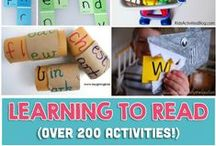 Homeschool: Reading / Tips, tricks, activities and help for teaching kids to read.