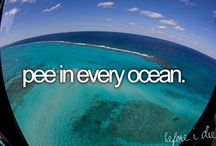 Bucket List / by Olive Elise Hosch