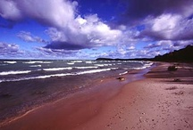 Leelanau Peninsula, On Lake Michigan Near Sleeping Bear Dunes  / Leelanau is a peninsula on the coast on Lake Michigan and is home of Sleeping Bear Dunes National Lakeshore. Its beautiful here. / by Ileana Habsburg-snyder