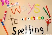 Homeschool: Spelling / Spelling lessons and activities for kids