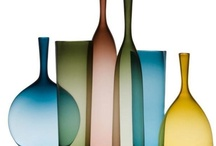 Home : Glass / Perfume, limited alcohol series, vases, I consider all of them as potential decoration objects / by Val Arts