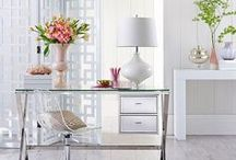 Office Space / The office is your sancturary, make it work for you and your style.