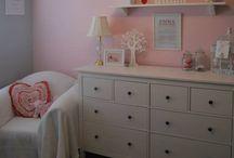 Nursery - Pink and Grey