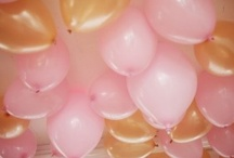 Pink gold princess party