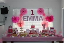 Kids Party - Pink  themed