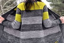 Knitted women's sweaters & Ponchos / by Cyndi Jacobson
