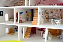Projects - Dollhouse makeover