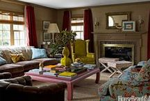 Living Rooms / Living Spaces / by Cassidy Montgomery