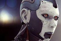 SF(ロボット、アンドロイド) / cg-geeks.com