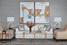 HFH Spring Catalog 2016 / We are incredibly proud to introduce our latest room ideas inspiration from the High Fashion Home Spring 2016 Catalog!! http://www.highfashionhome.com/catalog-spring-2016.html
