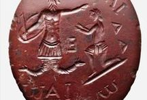 Wax Seals / A collection of wax seal stamps from antiquity to today.
