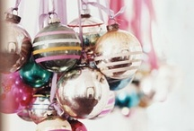 Christmas Ornaments / Ornaments to make, ornaments to buy, and ideas for decorating with them.