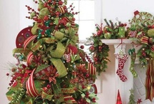 Christmas Trees / Beautifully decorated and unique Christmas Trees to inspire your Christmas decorating!