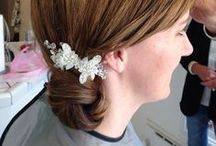 Bridal Hair Buns / Buns are the incredibly popular and look great with hair accessories. (www.lizfanlo.com)