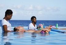 ...relax... / The Jewel Dunn's River Resort presents the Radiant Spa - a truly relaxing oasis designed to awaken the senses and have you feeling your best. Enhance your Jamaican beach resort trip with a couples massage or romantic candlelit bath.