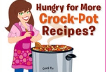 Slow Cooking Goodness (Crock Pot) / Scrumptious Slow Cooker Meals.  Set it and forget it!