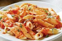 Pasta and rice! / Pasta recipes (no meat) / by Shelley Loving