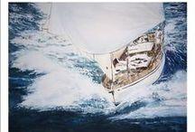 Cuadros de barcos y veleros / Cuadros al oleo y acuarelas de veleros y barcos, escenas de regatas y otro tipo de embarcaciones.