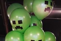 DIY Minecraft Birthday Party / 8 Year old Minecraft Party