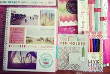 Erin Condren Love ... / A board for the many ideas on how to decorate and use my ECLP!!