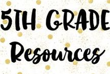 5th Grade Resources