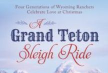 A Grand Teton Sleigh Ride / A collection of four Christmas novellas that follow the stories of the Covington family in Jackson Hole, Wyoming. Releases September 2014, Barbour Publishing