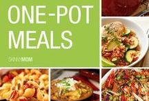 One Pot/One Pan Meals / Easy Peasy one dish to wash meals