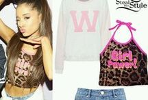 Ariana Grande Outfits / I luv her style <3