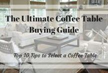 Coffee Table Guide / Guide to Buying Coffee Tables.