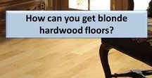 Blonde and Light Hardwood floors / Blonde and Light hardwood floors - maple, oak, white wash