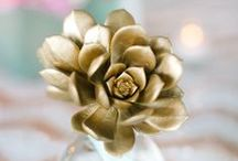 Stunning Succulents / Succulent finds perfect for any wedding