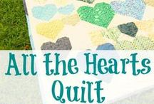 Quilt Love / Quilts, Tutorials, Free Blocks and patterns.  / by Busy Being Jennifer & Homespun Happiness