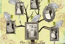 genealogy scrapbooking / by Diane Bogner